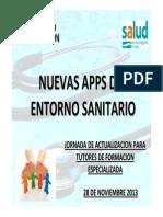 Aplicaciones entorno sanitario