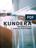 Nepodnosljiva Lakoca Postojanja - Milan Kundera