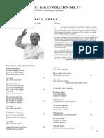 Poetas Andaluces Del 27