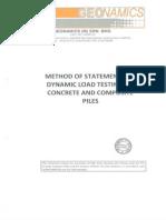 Method of Statement PDA Test 1-8