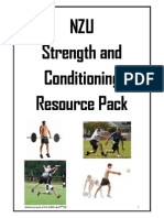 Nzu Strength and Conditioning Resource Pack