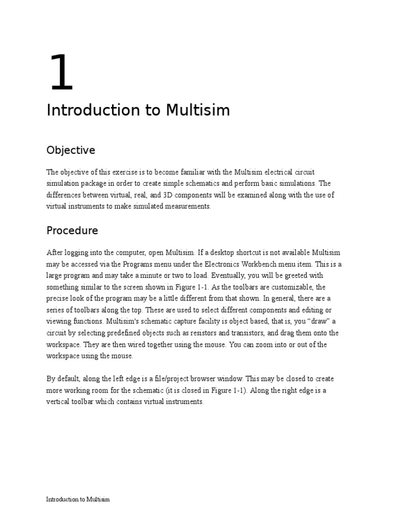 Introduction Of Multisim Passivity Engineering Amplifier Your Own Like Circuit Design And Simulation Application