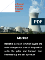 Unit 4 Price and Output Decisions Under Different Market Structures