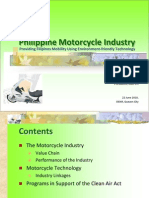 Philipine Motorcycle Industry