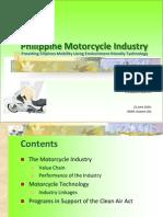 Philipine Motorcycle Industry