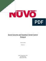 Nuvo Grand Concerto Serial Protocol
