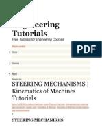 Engineering Tutorials Steering