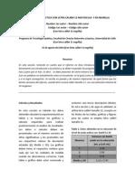 Formato de Presentación Informe de Laboratorio de Química Analítica