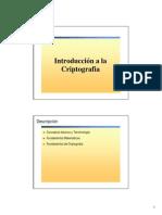 Introduccion a La Criptografia