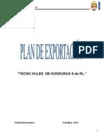 Plan de Exportacion Tecno Hules