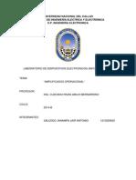 LAB Dispo Amplificadores Informe