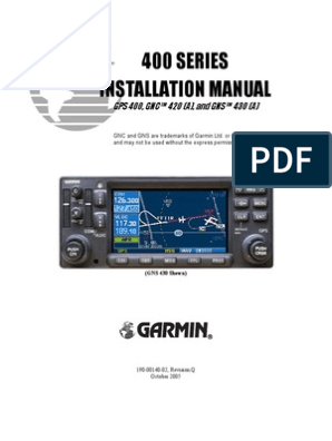 GNS 430 InstallationManual RevQ | Coaxial Cable | Cable