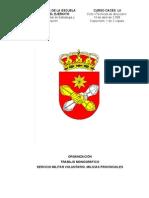 Diego Manzano. Milicias Provinciales