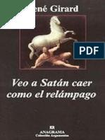 Veo a Satan Caer Como Un Relamp - Rene Girard