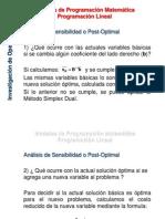 PL Analisis de Sensibilidad