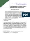 FDI Economic.growth GCC 2009