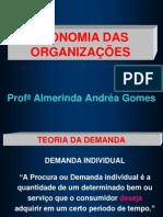 Slides de Economia Das Organizações
