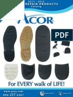 2011 Acor Shoe Repair Products Catalog E