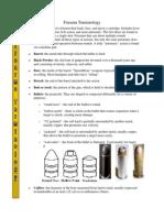 ballistics terminology