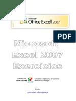 Manual Exercicios Excel 2007
