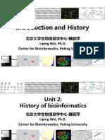1 1 2 History of Bioinformatics