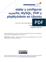 Linux Instalaryconfigurarapachephpmysqlphpmyadminlenubuntu