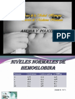 Anemia Neonatal y Policitemia