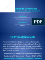 Foundational IT Governance Framework