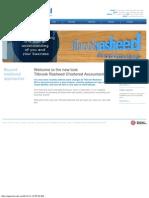 Tilbrook Rasheed Chartered Accountants