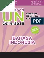 Kisi-kisi Soal Pengayaan Ujian Nasional  Bhs. Indonesia SMP/MTs TA 2014/2015