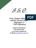 Franz Stephan Katalog082009