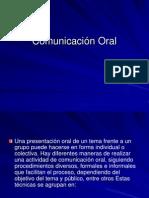 Comunicacion Oral Individual