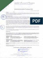 RESOLUCIÓN DE ALCALDIA N° 338-2014-A MPC