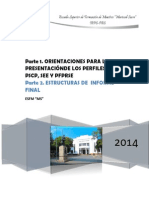 Perfiles e Informes Finales