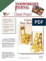 Cadeira Escada WJC139StepStoolChair