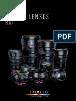 Canon Cinema Lenses Brochure 2013