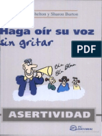 Asertividad Haga Oir Voz