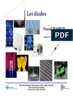 Diodes Cours - Projection - MASSON