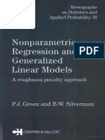 Nonparametric Regression and Generalized Linear Models P.J._green,_Bernard._w._Silverman