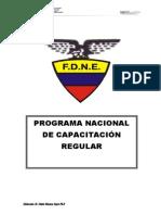 Programa Nacional de Capacitacin Regular Final