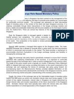 Singapores Exchange Ratebased Monetary Policy