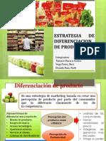 Estrategia de Diferenciacion de Productos