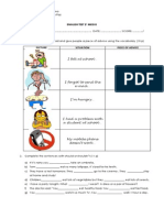 English Test 2º Medio Suggestions and Connectors