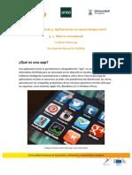 Tema 5A. Aplicaciones en Aprendizaje Móvil