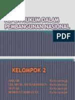 Aspek Hukum Dalam Pembangunan Nasional