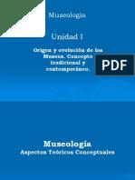 Aspectos Teóricos y Conceptuales de La Museología