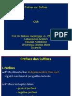 MEDICAL TERM Prefixes & Suffixes