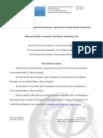 2013 - Valoración de La Credibilidad Del Testimonio Aplicación Del Modelo Reality Monitoring