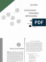 Didion Slouching Toward Bethlehem