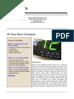 Oscillators Module